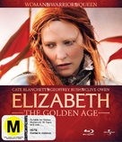 Elizabeth: The Golden Age - New Zealand Blu-Ray cover (xs thumbnail)