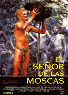 Lord of the Flies - Spanish Movie Poster (xs thumbnail)