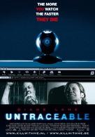 Untraceable - Belgian Movie Poster (xs thumbnail)
