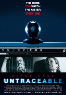 Untraceable - Belgian Movie Poster (xs thumbnail)