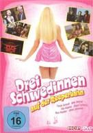 Drei Schwedinnen auf der Reeperbahn - German DVD cover (xs thumbnail)