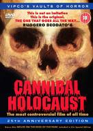 Cannibal Holocaust - British DVD movie cover (xs thumbnail)