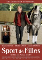 Sport de filles - German Movie Poster (xs thumbnail)