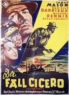 5 Fingers - German Movie Poster (xs thumbnail)