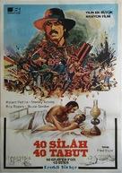 Machismo: 40 Graves for 40 Guns - Turkish Movie Poster (xs thumbnail)