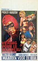 Il boia scarlatto - Belgian Movie Poster (xs thumbnail)