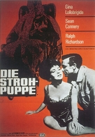 Woman of Straw - German Movie Poster (xs thumbnail)