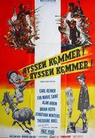 The Russians Are Coming, the Russians Are Coming - Swedish Movie Poster (xs thumbnail)