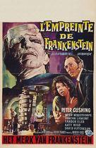 The Evil of Frankenstein - Belgian Movie Poster (xs thumbnail)
