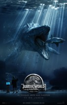 Jurassic World - Chilean Movie Poster (xs thumbnail)