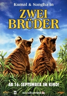 Two Brothers - German Movie Poster (xs thumbnail)