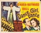 Dance, Girl, Dance - Movie Poster (xs thumbnail)