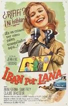 Bande à part - Spanish Movie Poster (xs thumbnail)