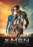 X-Men: Days of Future Past - Croatian Movie Poster (xs thumbnail)