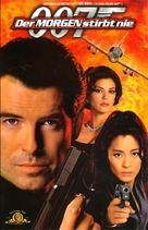 Tomorrow Never Dies - German VHS cover (xs thumbnail)