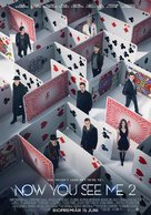 Now You See Me 2 - Indonesian Movie Poster (xs thumbnail)