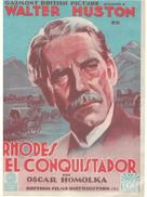 Rhodes of Africa - Spanish Movie Poster (xs thumbnail)