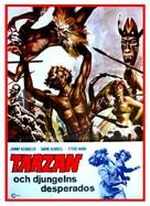 Karzan, il favoloso uomo della jungla - Swedish Movie Poster (xs thumbnail)