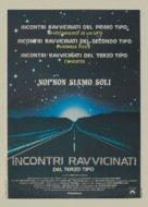 Close Encounters of the Third Kind - Italian Theatrical movie poster (xs thumbnail)