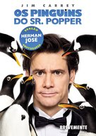 Mr. Popper's Penguins - Portuguese Movie Poster (xs thumbnail)