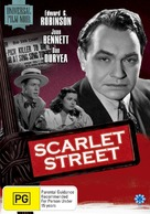 Scarlet Street - Australian DVD cover (xs thumbnail)