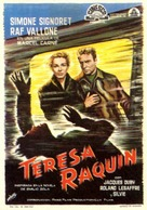 Thèrése Raquin - Spanish Movie Poster (xs thumbnail)