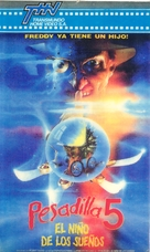 A Nightmare on Elm Street: The Dream Child - Argentinian Movie Cover (xs thumbnail)