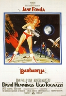 Barbarella - German Movie Poster (xs thumbnail)