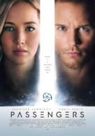 Passengers - Norwegian Movie Poster (xs thumbnail)