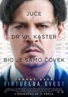 Transcendence - Serbian Movie Poster (xs thumbnail)