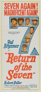Return of the Seven - Australian Movie Poster (xs thumbnail)