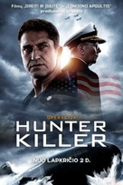 Hunter Killer - Lithuanian Movie Poster (xs thumbnail)
