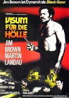 Black Gunn - German Movie Poster (xs thumbnail)