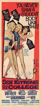 Sex Kittens Go to College - Movie Poster (xs thumbnail)