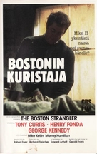 The Boston Strangler - Finnish VHS movie cover (xs thumbnail)