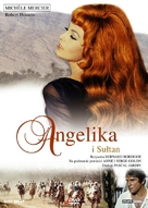 Angélique et le sultan - Polish DVD cover (xs thumbnail)