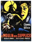 Il mulino delle donne di pietra - French Movie Poster (xs thumbnail)