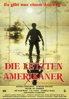 Southern Comfort - German Movie Poster (xs thumbnail)