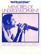 Memorias del subdesarrollo - Movie Poster (xs thumbnail)