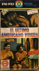 The Last American Virgin - Argentinian VHS cover (xs thumbnail)