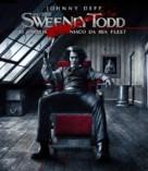 Sweeney Todd: The Demon Barber of Fleet Street - Brazilian Movie Cover (xs thumbnail)
