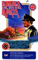 The Battle of the River Plate - Spanish Movie Poster (xs thumbnail)
