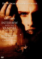 Interview With The Vampire - DVD movie cover (xs thumbnail)