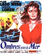 Boy on a Dolphin - French Movie Poster (xs thumbnail)