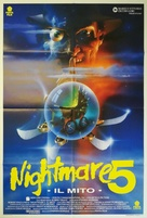 A Nightmare on Elm Street: The Dream Child - Italian Movie Poster (xs thumbnail)