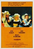 The Champ - Spanish Movie Poster (xs thumbnail)
