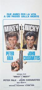 Mikey and Nicky - Italian Movie Poster (xs thumbnail)