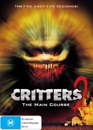 Critters 2: The Main Course - Australian Movie Cover (xs thumbnail)