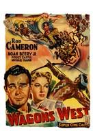 Wagons West - Belgian Movie Poster (xs thumbnail)