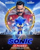 Sonic the Hedgehog - Mexican Movie Poster (xs thumbnail)